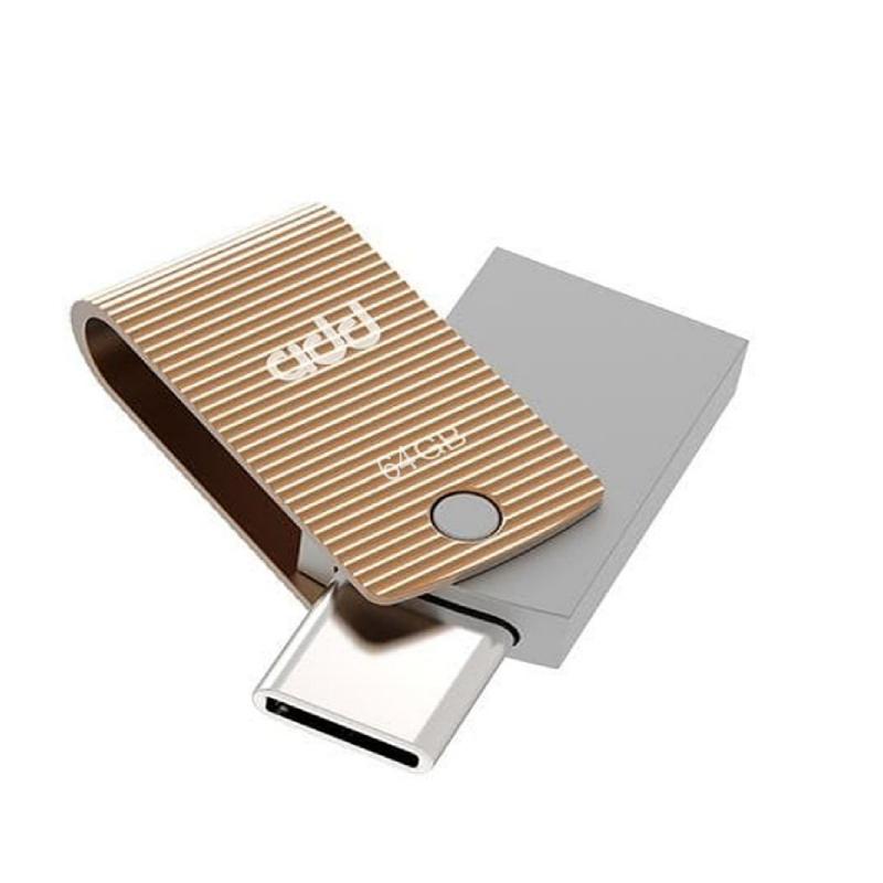 addlink OTGDUAL USB & TYPE C 64GB GOLD ad64GBT60R3 1905673