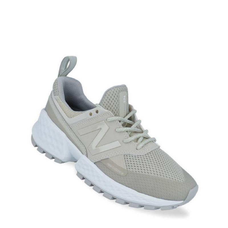New Balance Lifestyle 574 Sport Women Sneakers Shoes - Beige