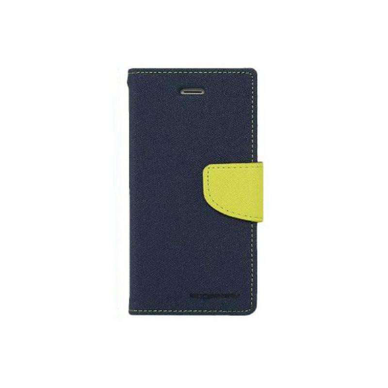 Goospery Fancy Diary Samsung Galaxy J510 2016 - Biru Kuning