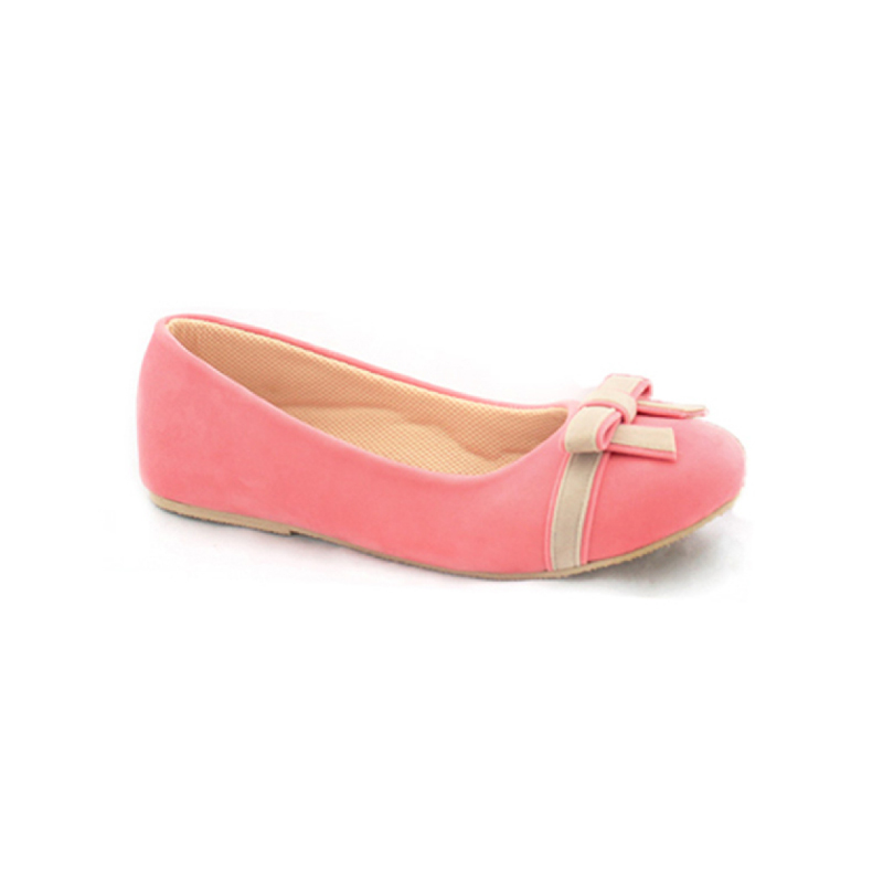 Alivelovearts Flat Shoes Berre Pink