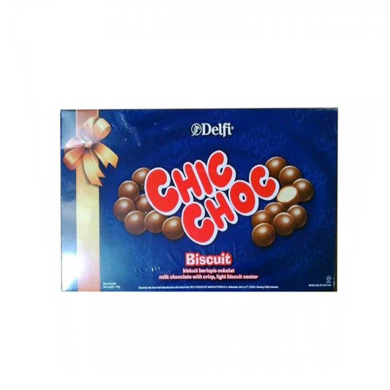 Delfi Chic Choc Biscuit Box 118 Gr