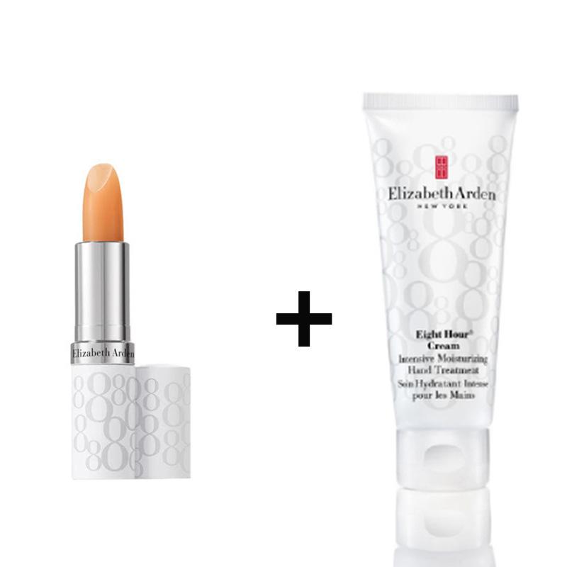 Elizabeth Arden Eight Hour Hand Cream+Eight Hour Lipcare Stick SPF 15