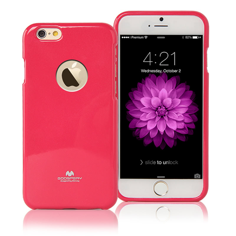Goospery Jelly Case for iPhone 6 Plus - Magenta
