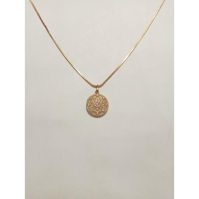 Ballin - Women Necklace FF N0096G Gold