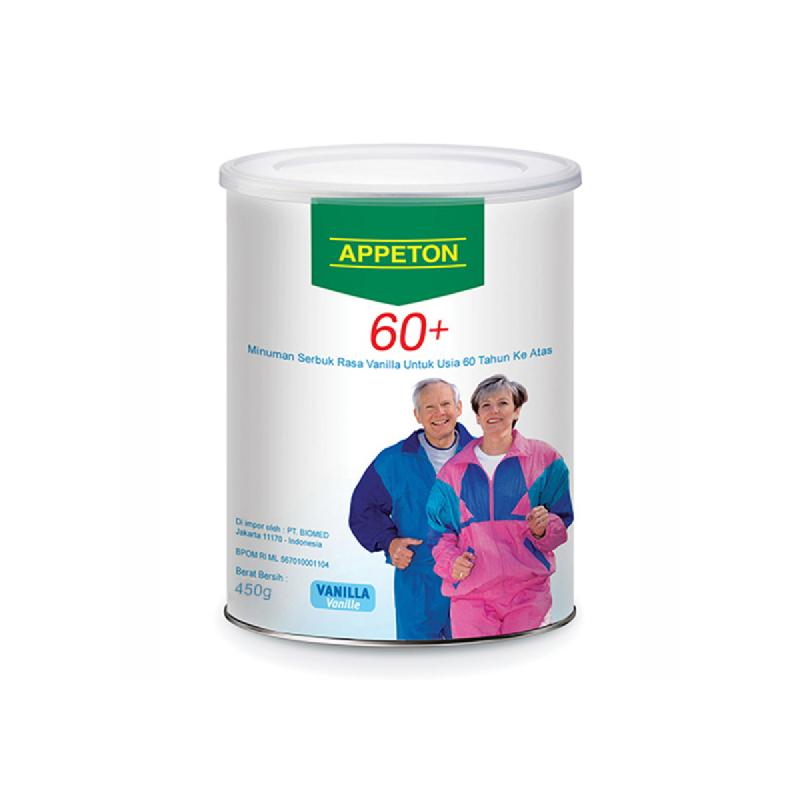 Appeton Susu Bubuk 60+ Vanilla 450 Gr