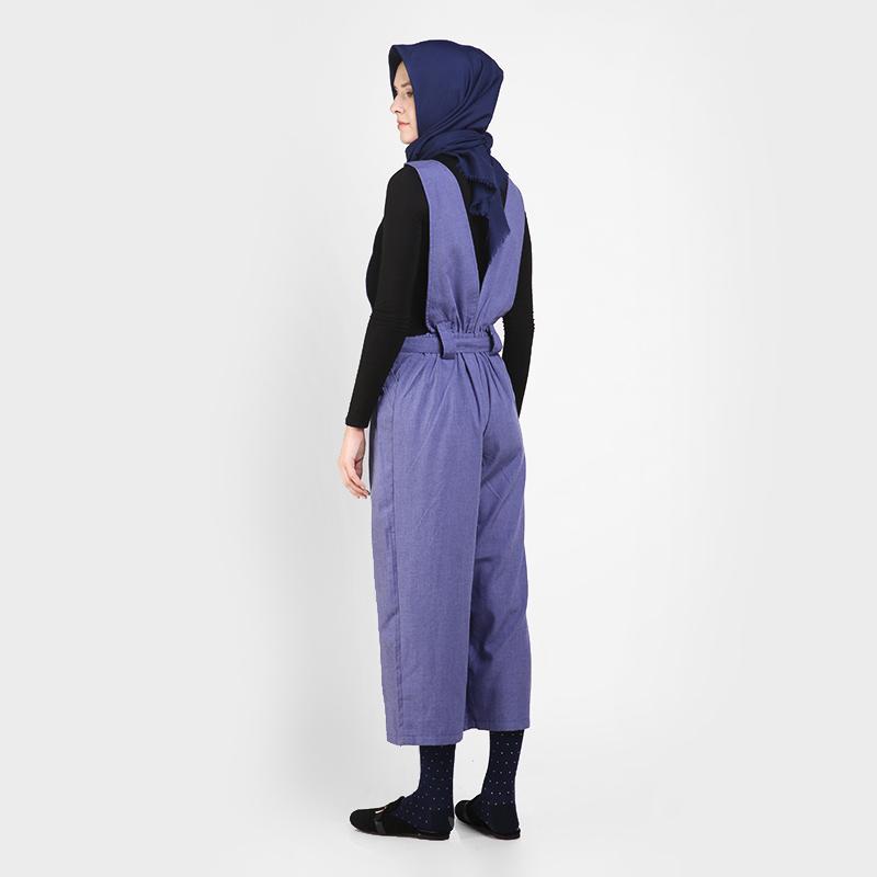 Alsley Jumpsuit - B Biru Tua