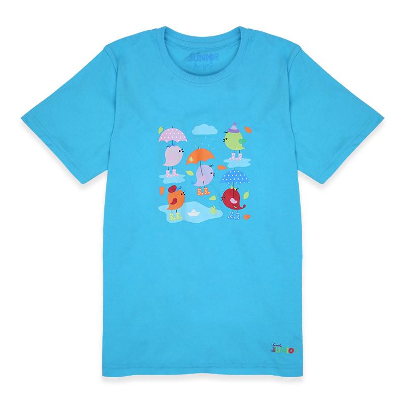 Rain-Bbzturquise T-Shirt Kids