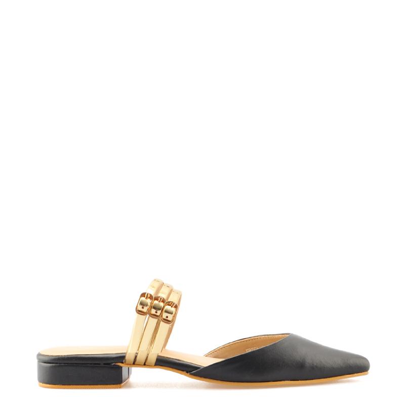 Amante Flat Shoes Erica L18 Black