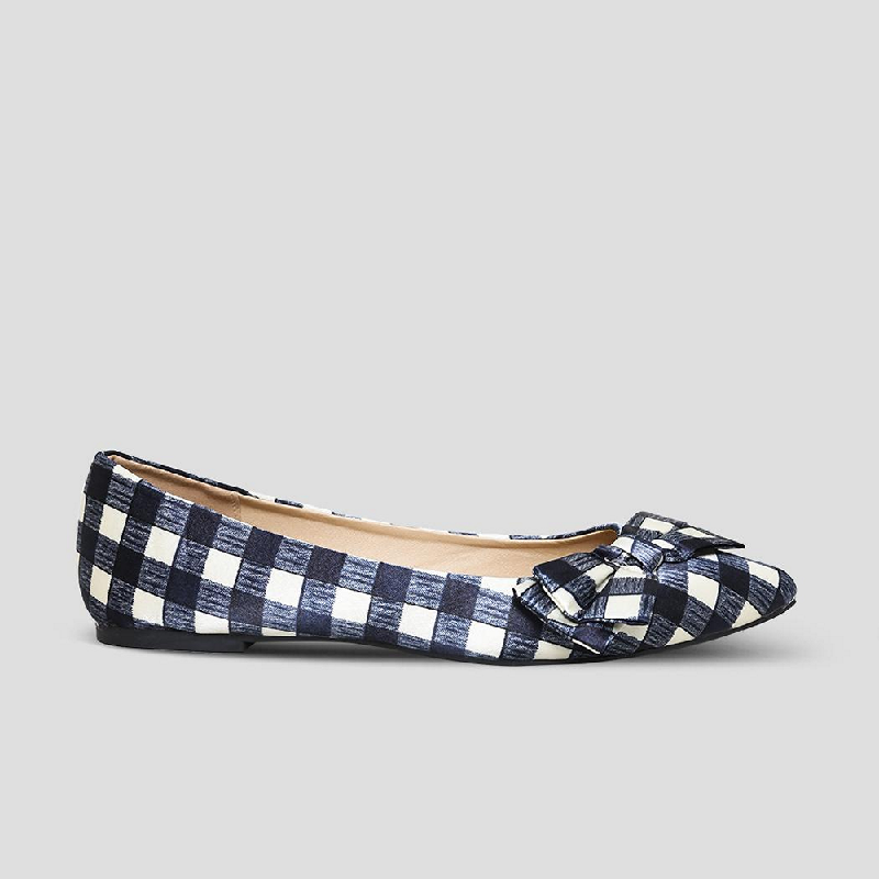 The Little Things She Needs Flat Shoes Glyfada Navy