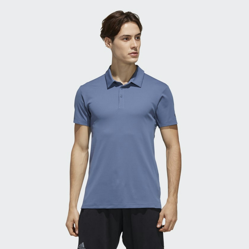 Adidas Climachill Polo Shirt DY7503 Tech Ink