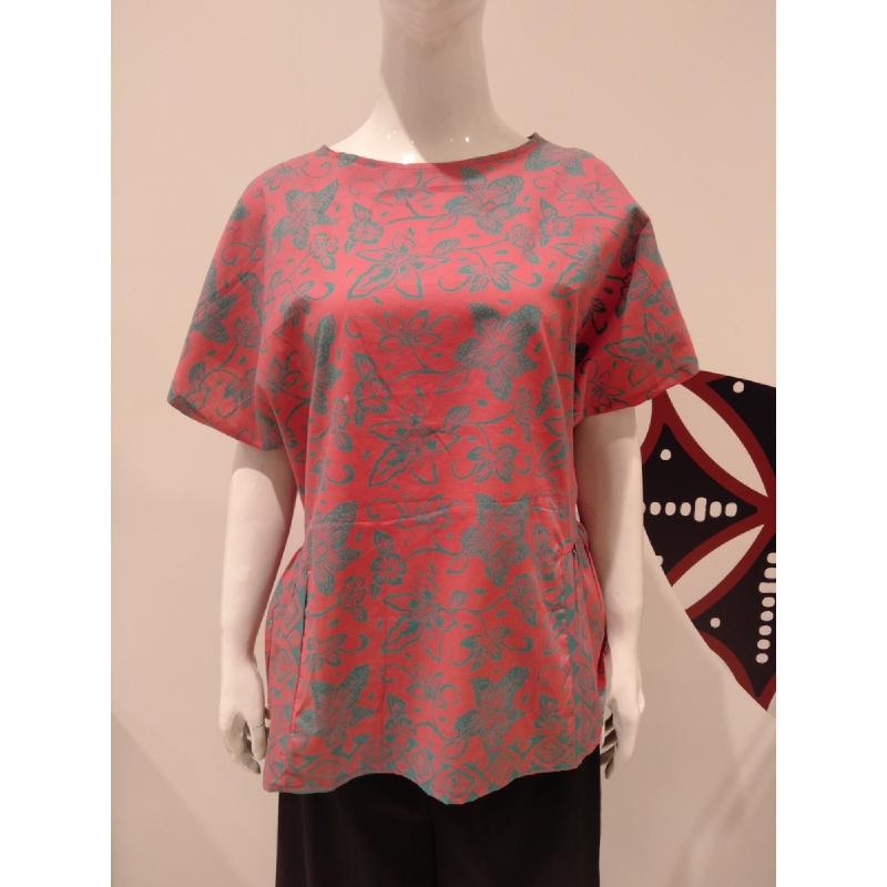 Astari Batik Blouse Pink