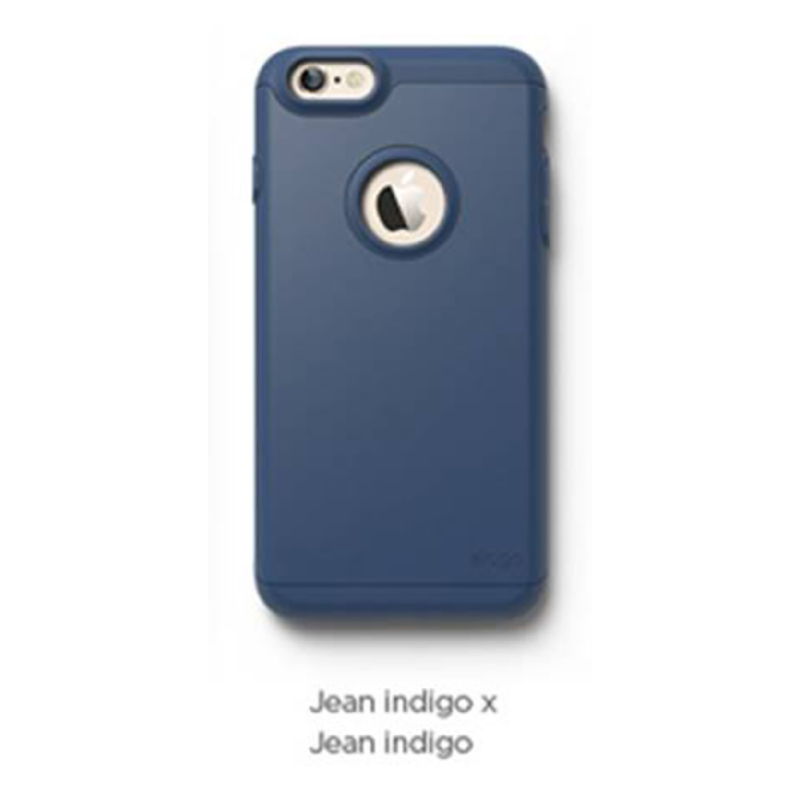 Elago Duro Jean Indigo Case for iPhone 6 Plus, 6S Plus - Jean Indigo + Jean Indigo (Matte)