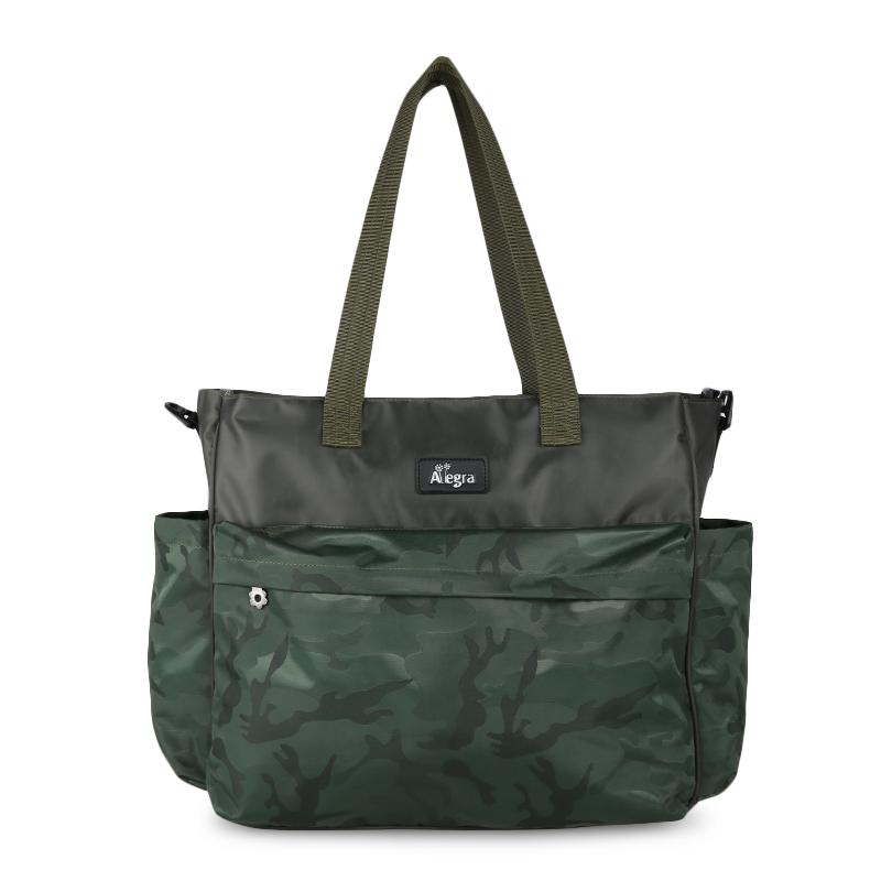 Allegra Army Cooler Diaper City Bag Green