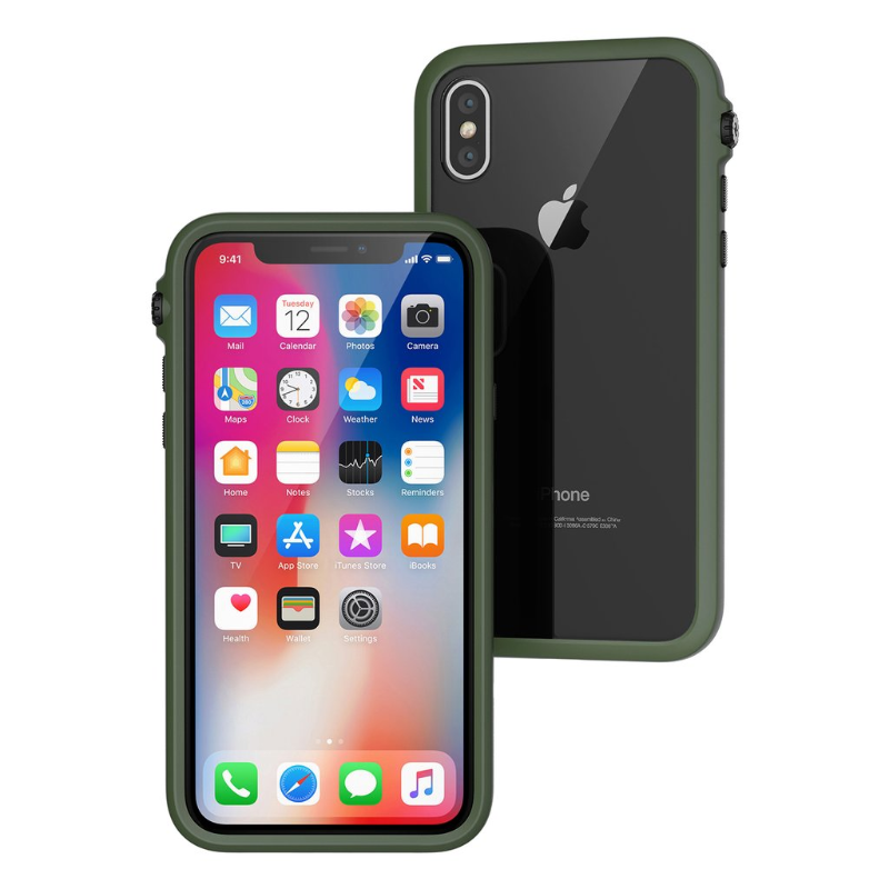 Catalyst Impact Protection Case for iPhone X - Stealth Black (CATDRPHXBLK)