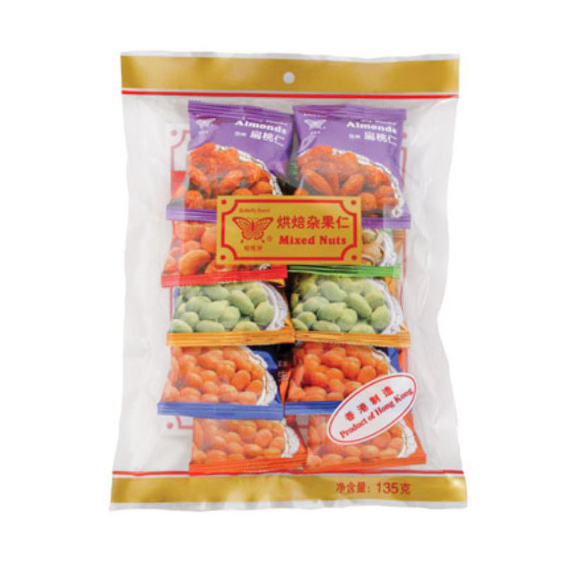 Butterfly Mini Pack Mixed Nuts 135 Gr