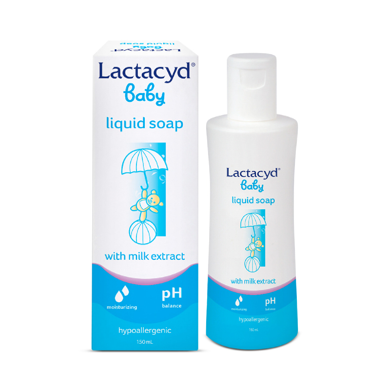 Lactacyd Liquid Baby Skin Care with Milk Extract 150 Ml