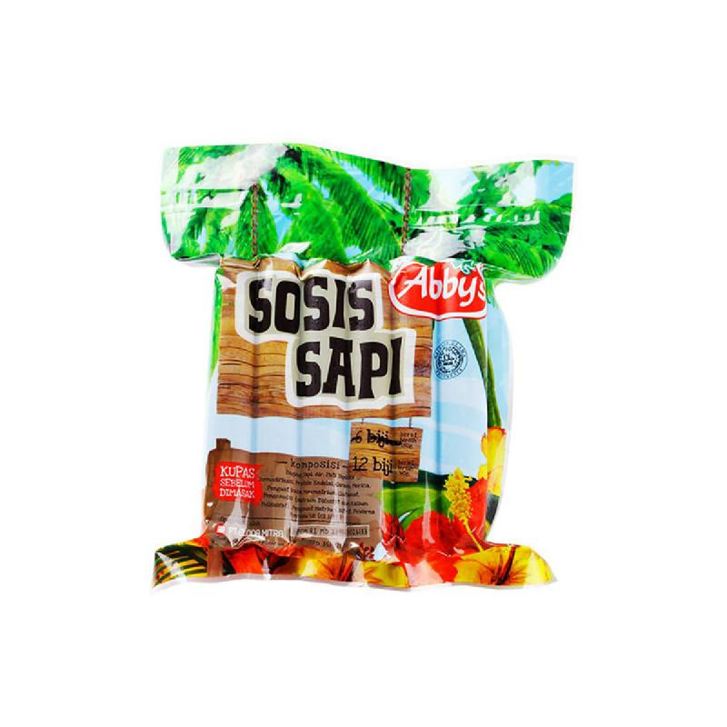 Abbys Sosis Sapi 12pcs