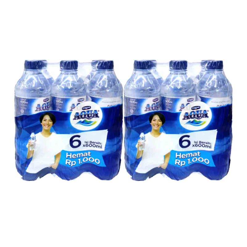 Aqua Air Mineral Mp 6X600Ml (Get 2)