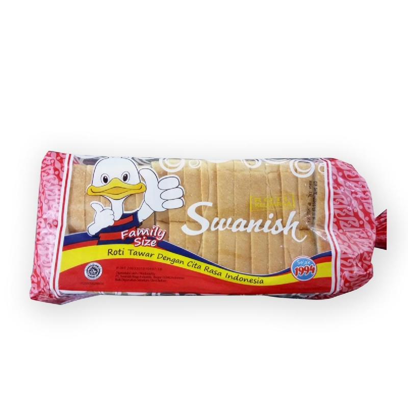 Swanish Roti Tawar C25 Family 500 Gr