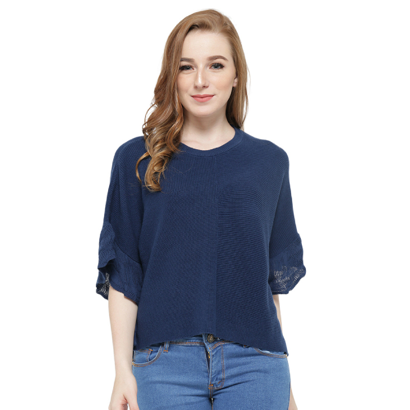 Knitwork Navy Batwing KKL-20A