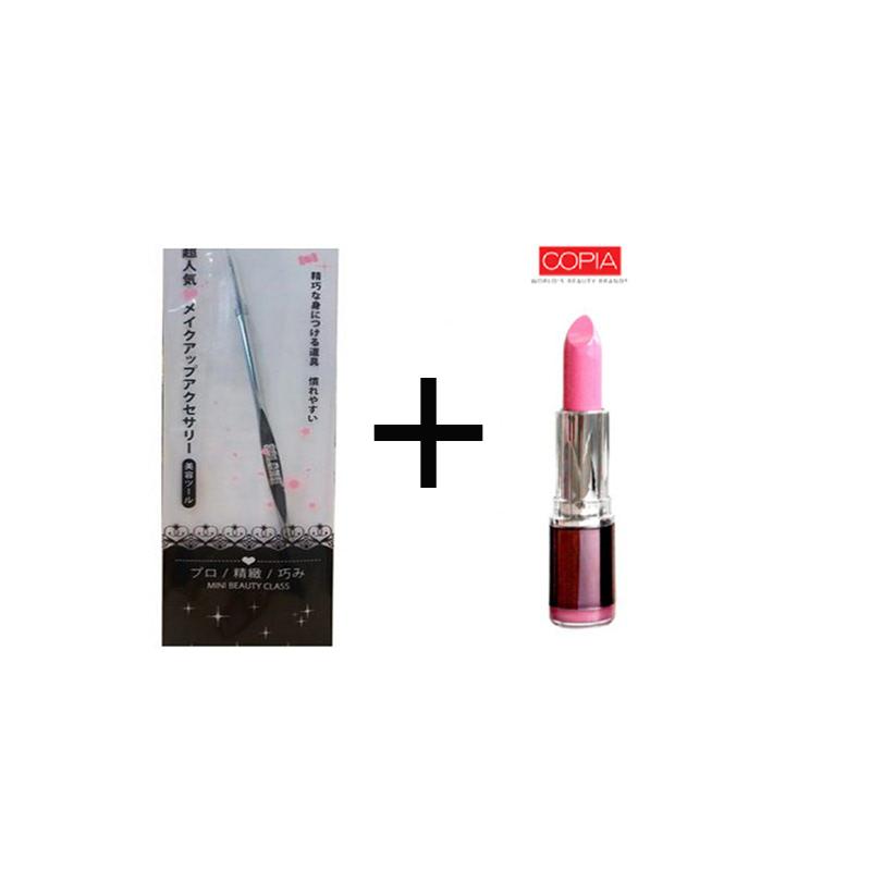Beaute Recipe Acne Stick 1073-4 + Be Matte Lipstick Palevioletred