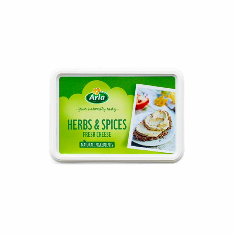 Arla Fresh Cheese With Herbs & Spices 15