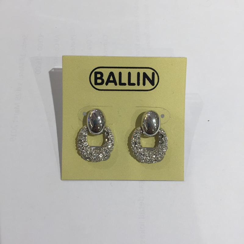 Ballin Women Earing YZ-E12757S Silver