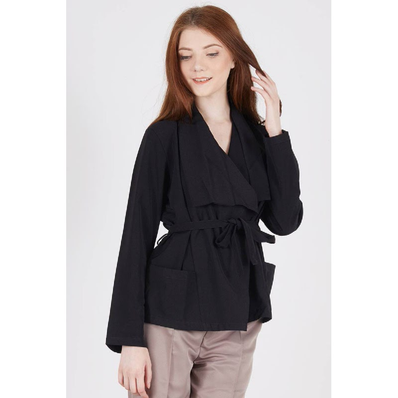 Syndal Coat Black