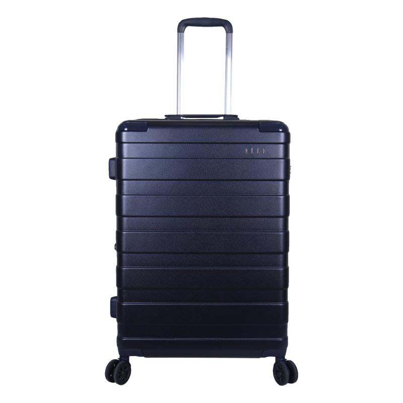 Elle Hardcase Luggage size 20 inch 4 Wheels TSA Lock Anti Theft  Navy