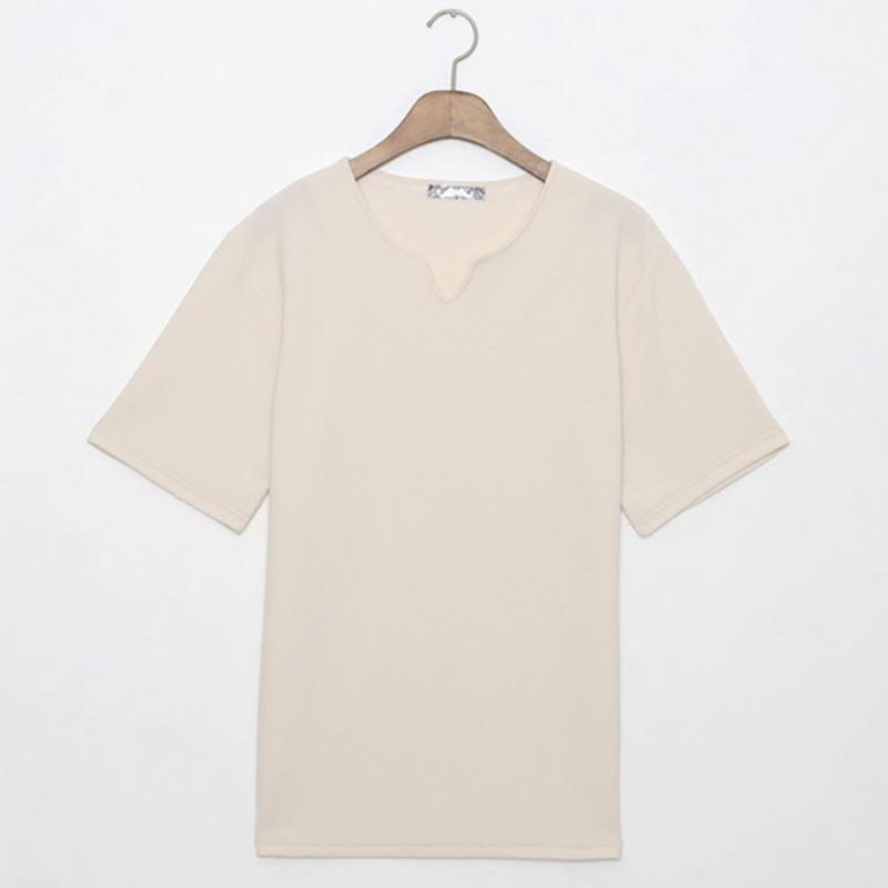 Lynwood Placket Short Sleeve T-shirt BG