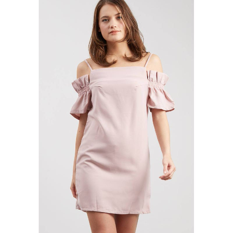 Francois Weisma Dress in Pink