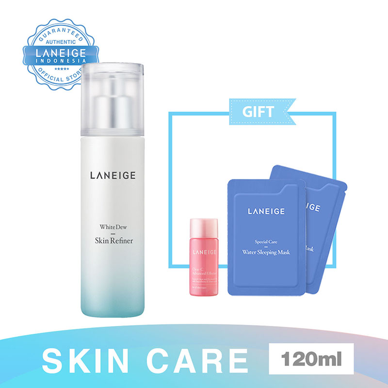 000000479601 Laneige White Dew Skin Refiner 120Ml +  Water Sleeping Mask 4Ml + Laneige Clear C Ad Effector Ex
