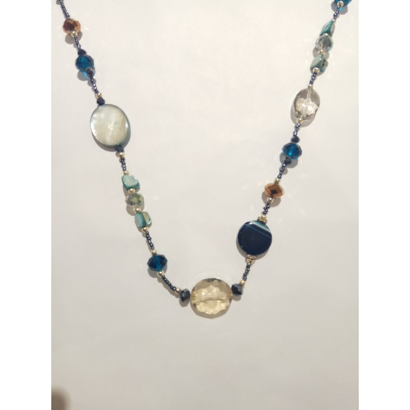 Ballin - Women Necklace ZB N078 Blue