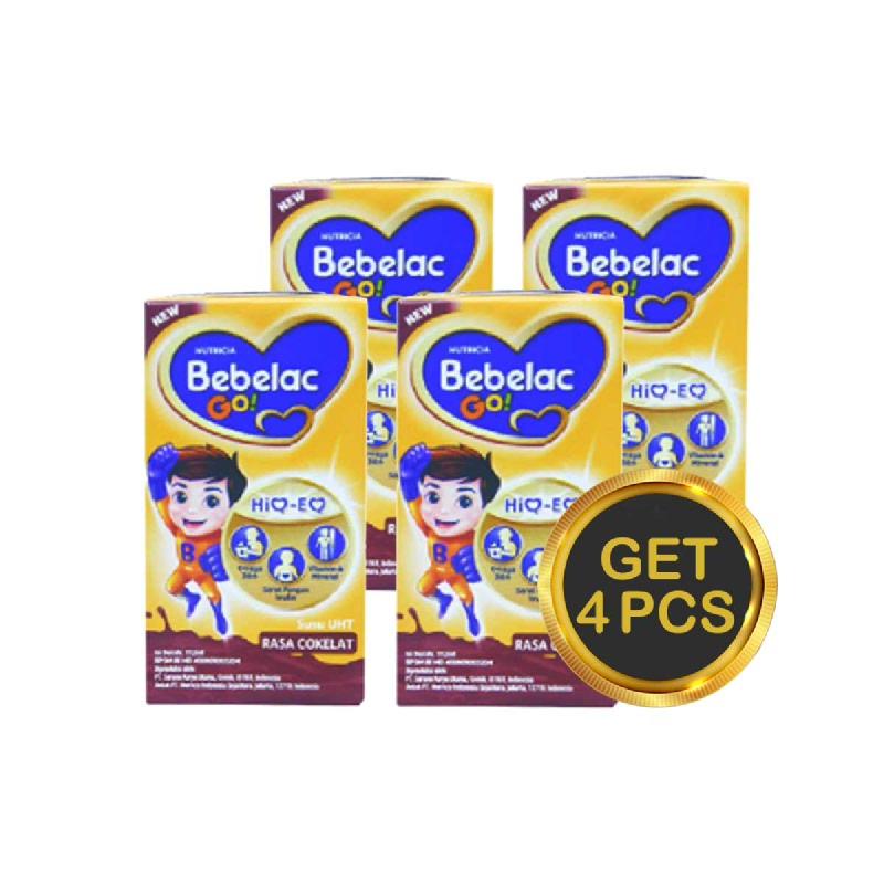 Bebelac Go Susu UHT Cokelat 112 Ml (Get 5)