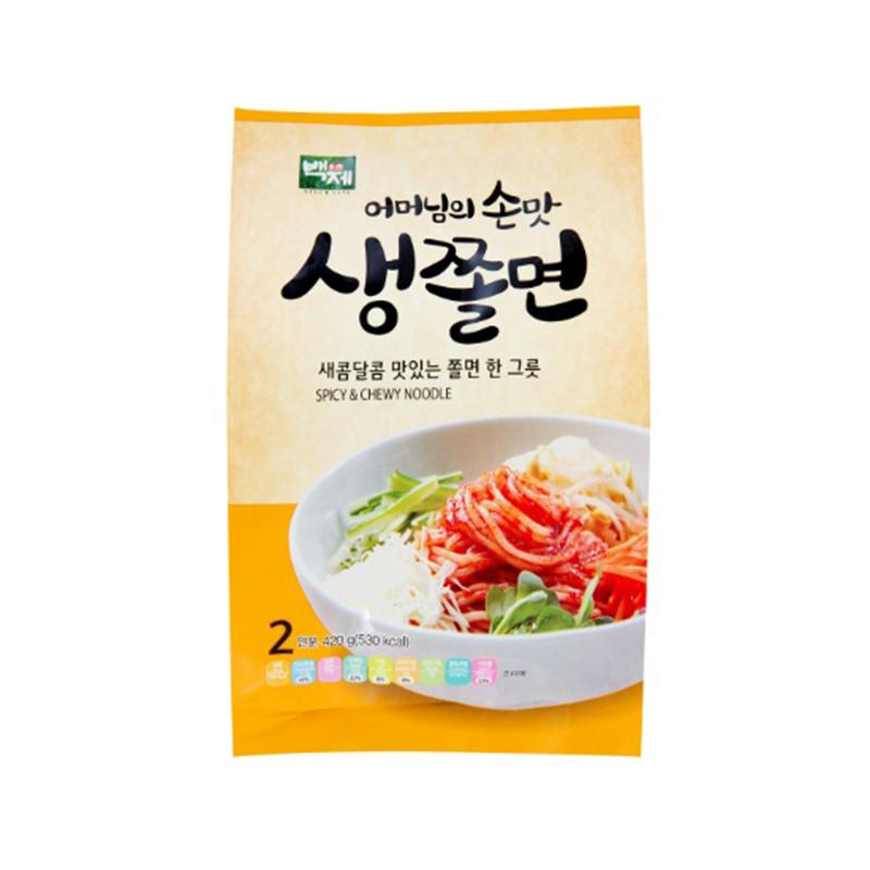 Baekje - Chewy & Spicy Noodle 420 gr