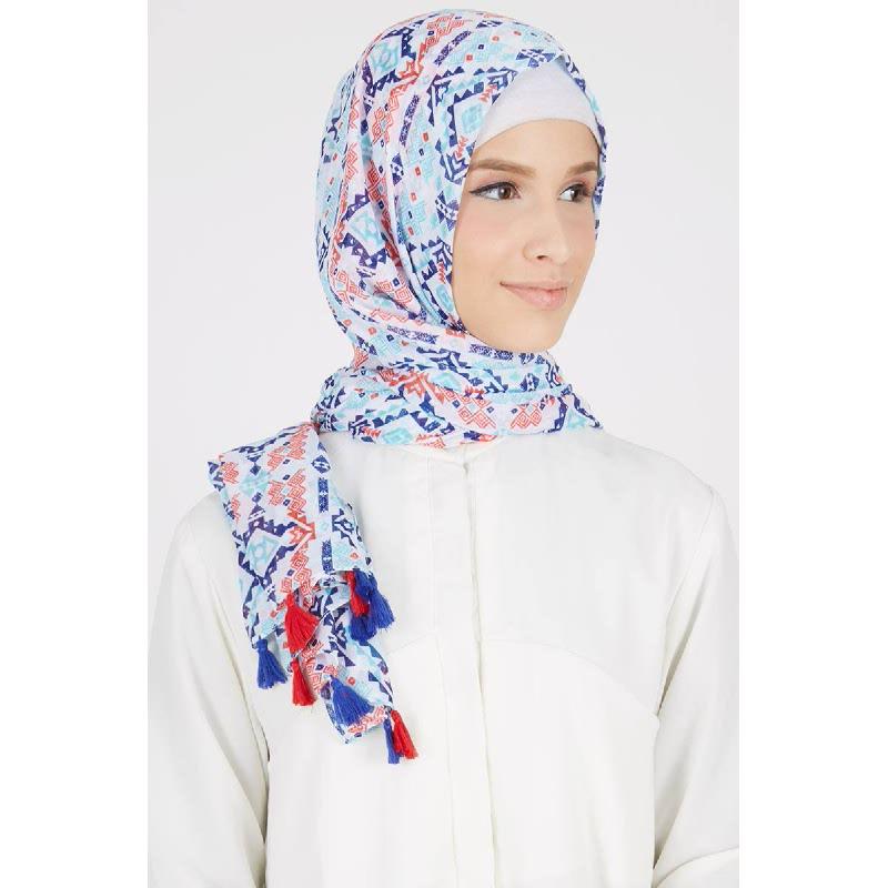 Afiqah Pashmina Blue