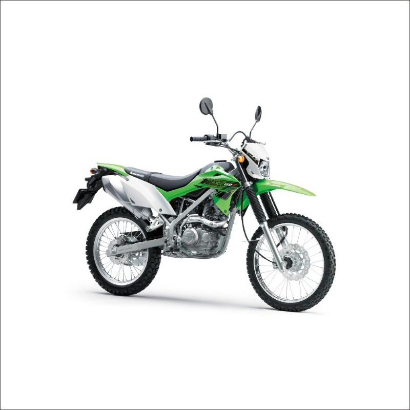Kawasaki New Klx 150 Sepeda Motor - Hijau (detabekser) (VIN 2019)