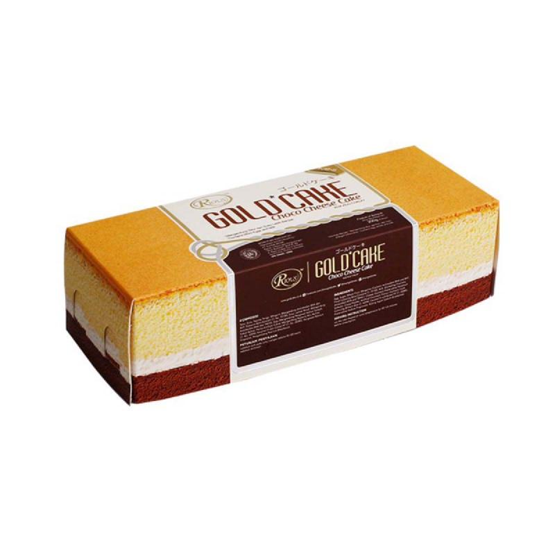 Rious Gold Cake Mini Choco Cheese Box 16