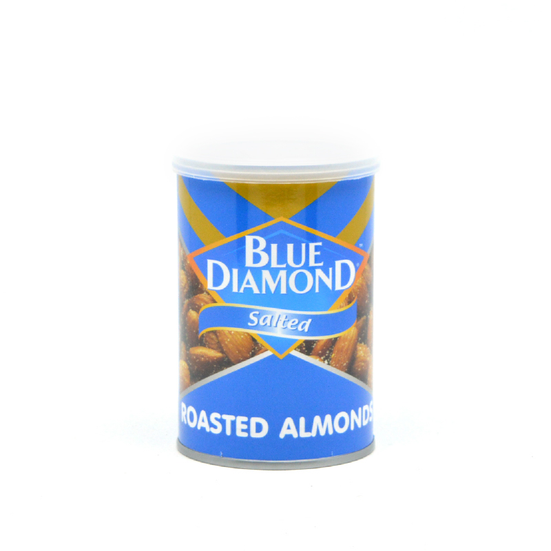 Blue Diamond Almond Roast Salted Blue 130per150G