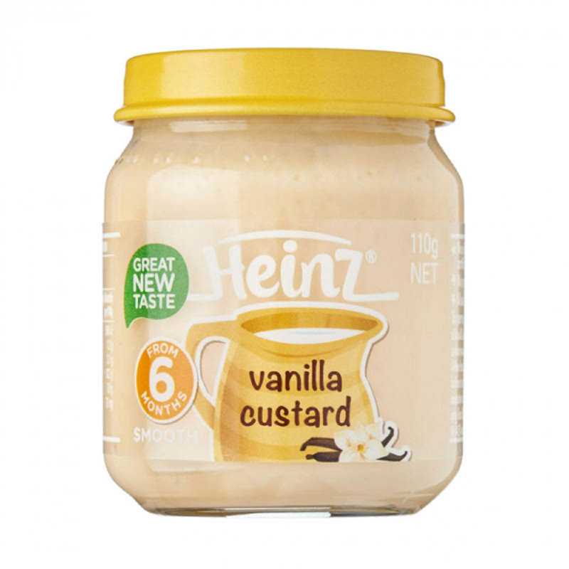 Heinz Smooth Puding Bayi Vanilla Custard 110 Gr