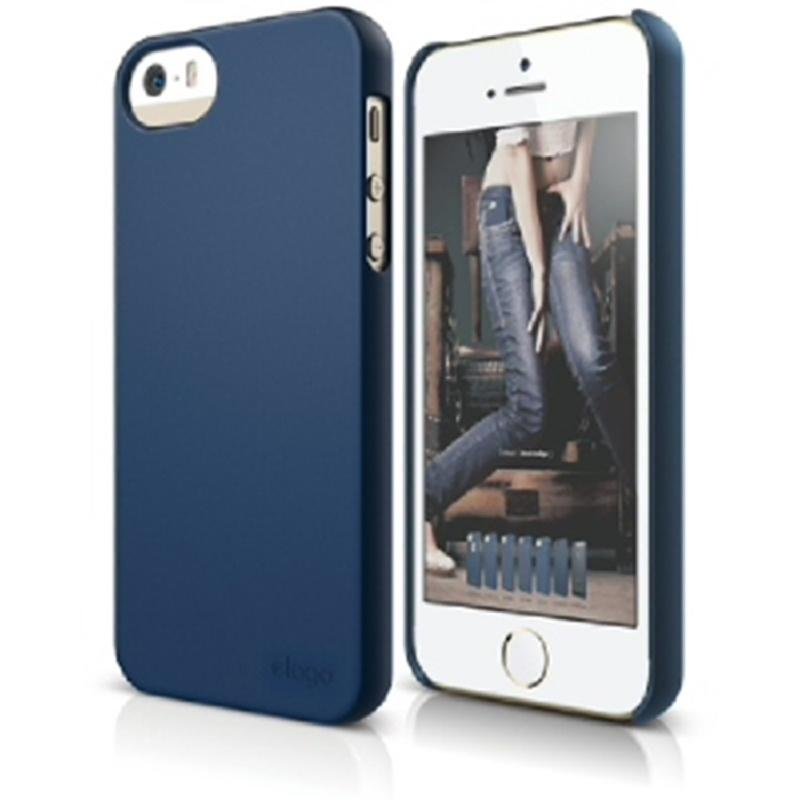 Elago Slimfit 2 Case for iPhone SE, 5, 5S - SF Jean indigo