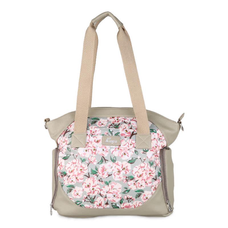Allegra Sakura Cooler Diaper Sling Bag Grey