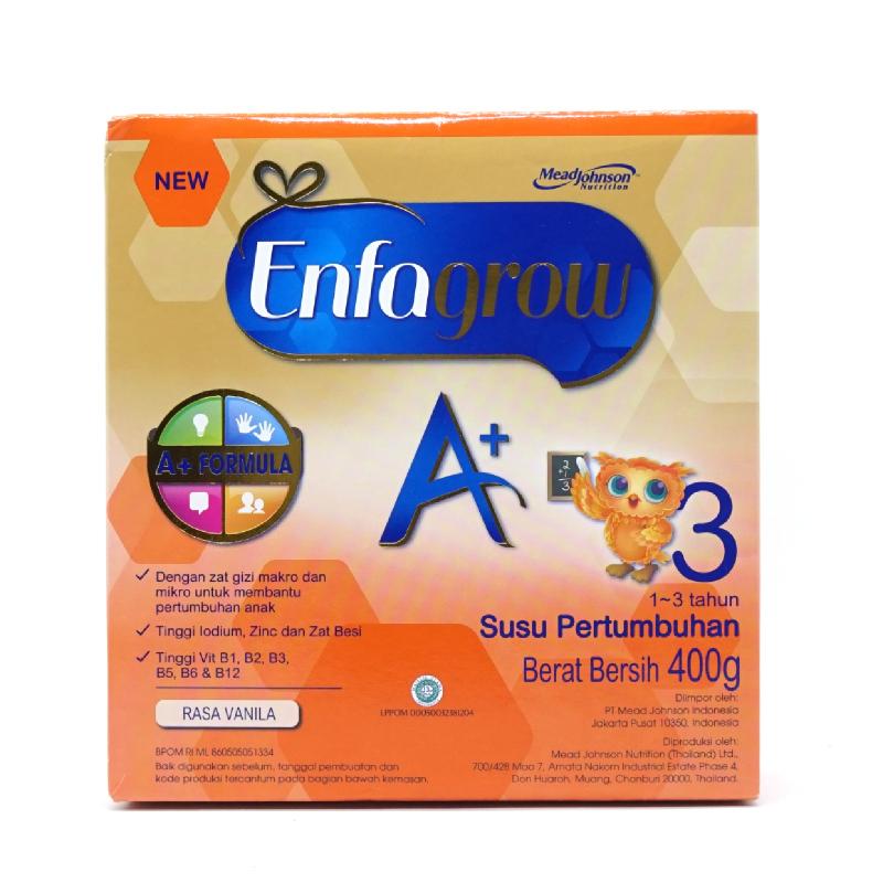 Enfagrow Powder Milk A+ 3 Vanilla Box 400G