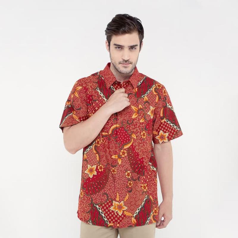 Asana Batik Short Sleeve SSWB39RED Red