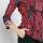 Arjuna Weda Blouse Batik Dobby Gunungan Hati Merah