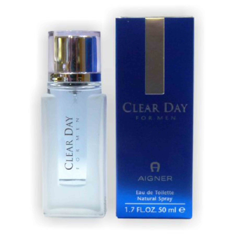 Aigner Clear Day Men EDT Natural Spray 50 Ml