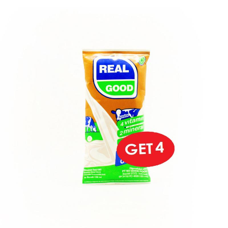 Real Good Sereal Coklat 150 Ml (Get 4 Pcs)