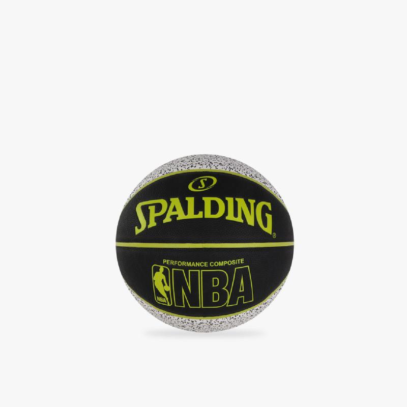 Spalding NBA Composite Static White
