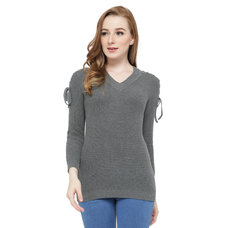 Knitwork NavyMisty Grey KKL-21B