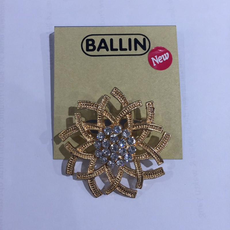 Ballin Women Brooch XP-BR121-1 Gold